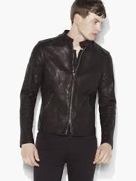 motocross leather jacket john varvatos studded leather jacket in black for men lyst