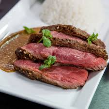 Salt Crusted Beef Tenderloin by So Delicious Beef Steak With Sweet Tahini Sauce Recipe