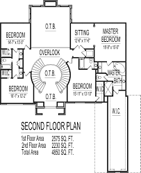 Foot House Floor Plans 5 Bedroom 2 Story Double Stairs foothome