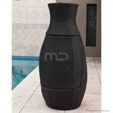 stacking vase 3pc set black outdoor wicker furniture u0026 outdoor