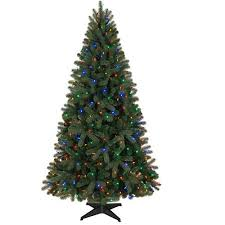 time pre lit 6 5 boston artificial tree led