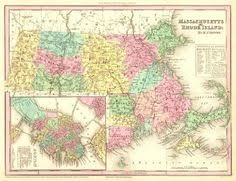 map of ma and ri map new states map 1864 johnson map massachusetts ma
