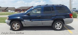 cherokee jeep 2000 2000 jeep grand cherokee laredo suv item k7561 sold aug