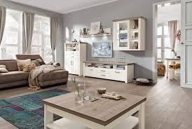 Wohnzimmerm El In Ahorn Landhausmobel Weiß Wohnzimmer Home Design Und Möbel Ideen