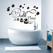 American Standard Acrylic Bathtubs Remarkable Cute Bathroom Wall Art Using Sheets Of Vinyl Sticker