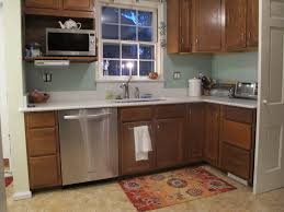Kitchen Color With Oak Cabinets blue kitchen colors with oak cabinets ideas u2013 home furniture ideas