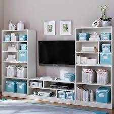 Pottery Barn Teen Bookcase Stack Me Up Media Storage Superset Pbteen