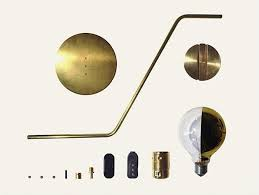 brass lamps from maurizio navone remodelista