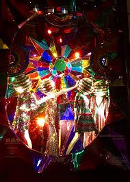 eye on design gio graphy disco window display at bergdorf goodman