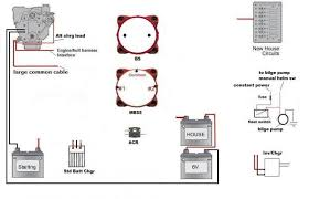 correct wiring for dual engines dual batteries each 1 house