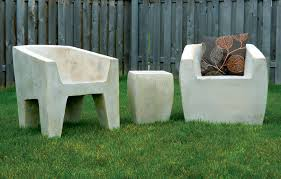 Concrete Outdoor Furniture Home Design Ideas And Pictures - Heavy patio furniture