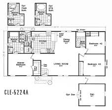manufactured homes floor plans california floor plan cle 5228b cle multi section durango homes built by