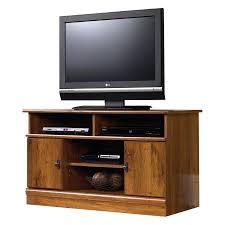 Sauder Tv Stands And Cabinets Sauder Harvest Mill Panel Tv Stand Abbey Oak Walmart Com
