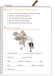 grade 3 grammar lesson 4 adjectives language ideas for grade 3s