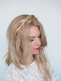 plait headband braided headband hairstyle tutorial hair