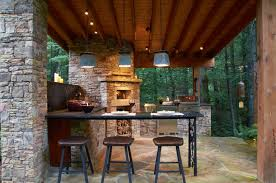 Outdoor Kitchen Lights 30 Outdoor Kitchen Designs Ideas Design Trends Premium Psd