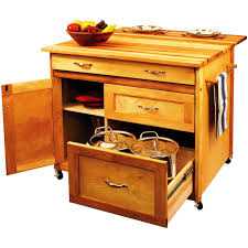 Wheeled Kitchen Islands Portable Kitchen Island To Organize Your Kitchen Easier
