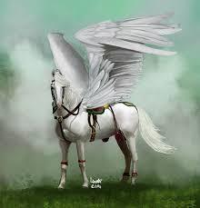 white pegasus by yob on deviantart