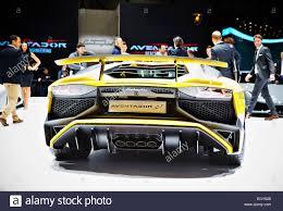Lamborghini Aventador Sv - lamborghini aventador sv stock photo royalty free image 79272659