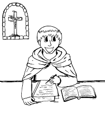 coloring saints free pictures of saints for kids to color page 3