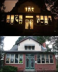 diy halloween window decorations halloween csat co