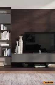 Tv Cabinet Wood Design This Contemporary Design Dark Wood Tv Cabinet Is Made Of Melamine