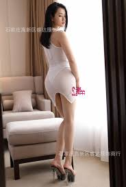 tight skirts silky ultra thin transparent after the fork tight skirt in