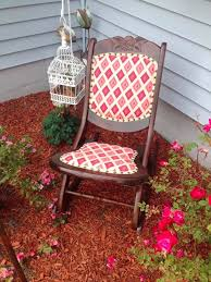 Upholstered Nursery Rocking Chair Antique Folding Nursing Rocking Chair Boho Funky Upholstery