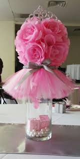 tutu centerpieces for baby shower cool baby shower for girl centerpieces 12 on diy baby shower