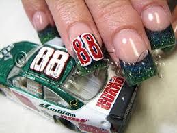 27 best nascar nails images on pinterest nascar nails racing