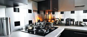 cuisine avec credence inox mosaique pour credence cuisine mosaique autocollante pour cuisine 2