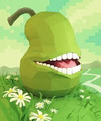 low poly pear by cortoony on deviantart