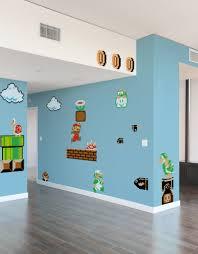 Super Mario Bedroom Decor Super Mario Bros Cool Mario Wall Decals Home Decor Ideas