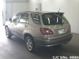 toyota lexus harrier 1998 1998 toyota harrier gold for sale stock no 45684 japanese