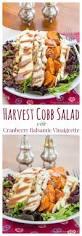 thanksgiving salad harvest cobb salad cupcakes u0026 kale chips
