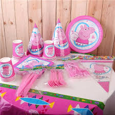 peppa pig party supplies pre order brand new peppa pig party set party supplies babies