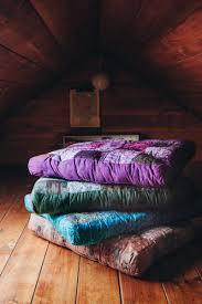 hippie square floor cushion tree of life bohemian homewares
