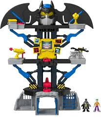 amazon com fisher price imaginext dc super friends transforming