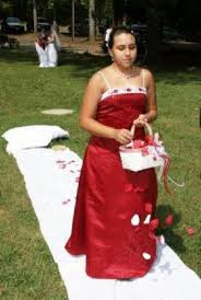 beaded bridesmaid dress apple red bridesmaid and junior dress