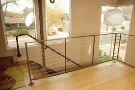 residential cable stair railing exclusive ideas cable stair