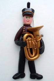 school marching band ceramic ornament marching bands ornament