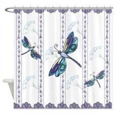 Dragonfly Shower Curtains Dragonfly Shower Curtain Foter