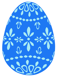 blue easter eggs free simple blue easter egg clip