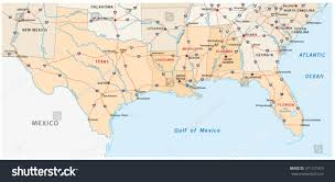 Mexico Maps Map Us States Gulf Mexico Maps Of Usa