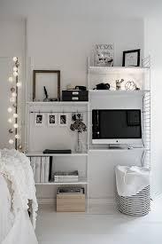 bureau dans salon aménager un coin bureau dans le salon 29 idées à piquer une