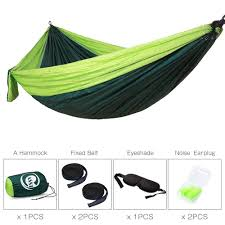 winner outfitters double camping hammock amazon com casst camping hammock with tree straps single