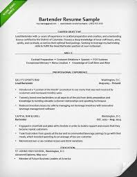 Barback Resume Sample by Resume Bartender Skills Most People Think Working As A Bartender