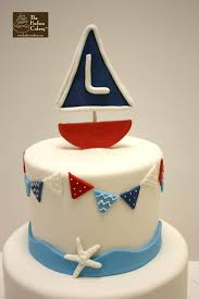 sailboat cake topper sailboat nautical birthday cake birthdays the hudson cakery