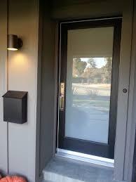 Glass Exterior Door Front Door Glass Covering Handballtunisie Org