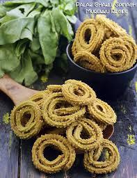 pinch of swad rice chakli palak chakli spinach murukku recipe spinach recipes and snacks